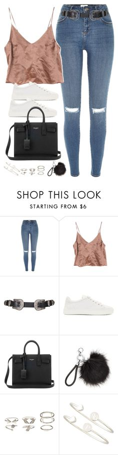 """Untitled#4553"" by fashionnfacts ❤ liked on Polyvore featuring River Island, Topshop, rag & bone, Yves Saint Laurent, Charlotte Russe and Sarah Chloe"