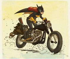 Batgirl by Douglas Holgate