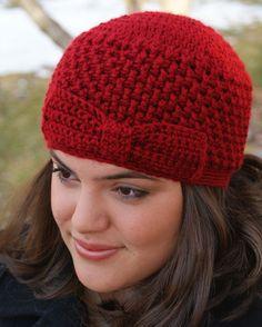 Crochet Womens Hat The Jane by MadhatterknitsCo on Etsy, $25.00