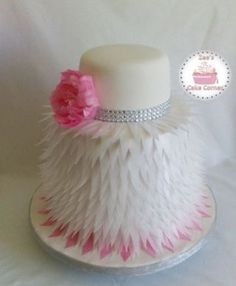 This is my 2nd attempt at a wafer paper feather cake made for a sweet couple . seeing that i could not find a tutorial for Guidance i had to study the images of similar cakes to figure out how to execute the design . after a few trail and errors i...