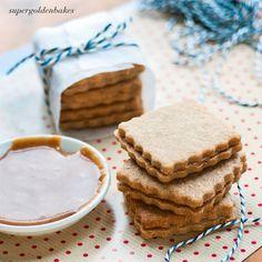 supergolden bakes: Cinnamon Caramel Cookies - The Great Food Blogger Cookie Swap 2013