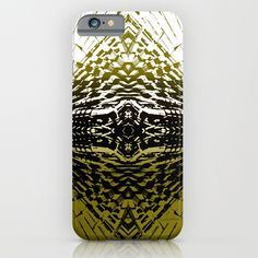 Shield of Gold Palms iPhone & iPod Case by Vikki Salmela | Society6, new abstract #tropical #palm leaf patterned into graphic #art on #tech #accessories, phone, iPad and laptop cases. #Home and #apparel products available too.