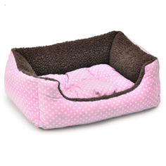 pink dog beds uk