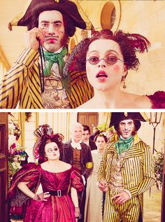 They absolutely MADE this movie for me...so funny! -----> Sacha Baron Cohen & Helena Bonham Carter in Les Misérables