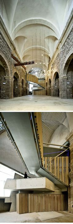 Why did I not take the time to study to be an architect. Convent de Sant Francesc | David Closes
