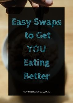 Starting a healthier, paleo or whole foods diet? Check out these common food choice swaps to start you off. Click through to check out the whole article...