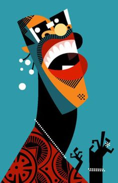 Stevie Wonder by Pablo Lobato graphic design illustration Art And Illustration, Illustration Design Graphique, Art Graphique, Stevie Wonder, Arte Pop, Pop Art, Art Design, African Art, Vector Art