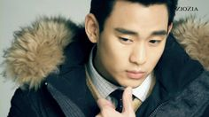 awesome Actor ◆Kim Soo Hyun #김수현 @ ZIOZIA Winter Collection 2013