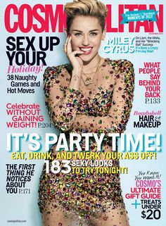 "Miley Cyrus covers Cosmopolitan and talks about life after Liam Hemsworth: ""This is the best time of my life."""