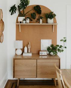 Small Room Bedroom, Bedroom Wall, Diy Bedroom Decor, Home Decor, Small Rooms, Bedroom Ideas, Decor Room, Magazine Deco, Block Painting