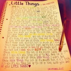 Day 3: favorite One Direction song Umm this is so hard to choose cause they're all super amazing but my current favorite is Little Things.