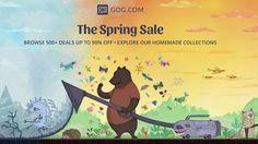 Best GOG Spring Sale Deals - http://techraptor.net/content/best-gog-spring-sale-deals   Gaming, Gaming News