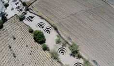It took satellite photos to solve this Nazca mystery.