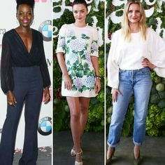 Um pouquinho mais de inspirações lindinhas para o fim de semana. Do WIF Awards e do evento In Goop Health, da Gwyneth Paltrow, em Los Angeles.💗 #beautiful #lupitanyongo #mirandakerr #camerondiaz #fashionstyle #inspirations #losangeles #events