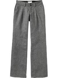 Women's Wool-Blend Tweed Pants - StyleSays