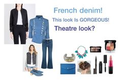"""""""For Scarlett (friend) - Scarlett's ideal wardrobe by me: #326: French demon!"""" by sarah-m-smith ❤ liked on Polyvore featuring Billabong, French Connection, Pierre Balmain, M.i.h Jeans, Robert Clergerie, Lodis, Appartement à Louer, Smith & Cult, Bobbi Brown Cosmetics and MAC Cosmetics"""