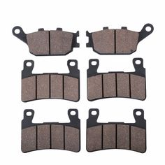 6 PCS Motorcycle Rear Front Brake Pads For HONDA CBR 600 F4 F4i Sport CBR 929 RR-FIREBLADE CBR900 RR VTR 1000 SP-1 (SP45). Click visit to buy