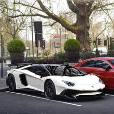 Lamborghini Aventador Super Veloce Roadster painted in Bianco Isis Phot