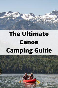 Canoe Camping, Camping Guide, Canoe Trip, Canoe And Kayak, Camping And Hiking, Kayak Cart, Camping Outdoors, Kayak Boats, Canoes