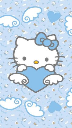 Blue Hello Kitty Wallpapers For iPhone 6