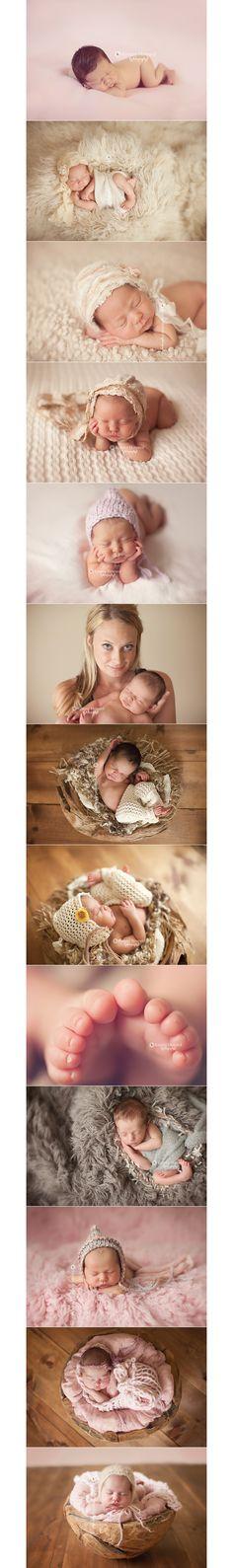 Kimmy Howard Photography Newborn Photography Inspiration