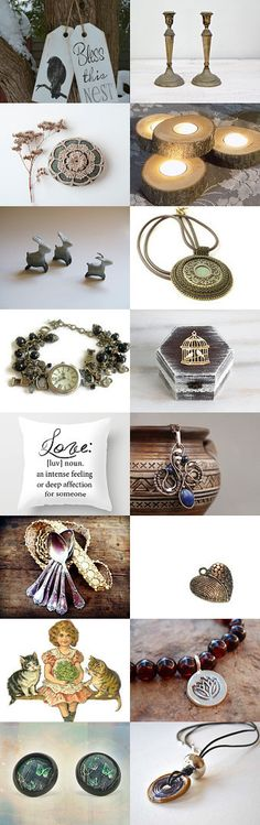 Bless This Nest by Savenna Zlatchkine on Etsy-- #etsy #handmade #decor #rustic #cottage #ringbox #jewelry #mothersday #interiores