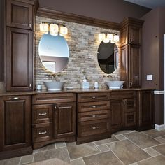 Snazzy Master Bathroom | ProSource Wholesale Richly Finished Bathroom  Cabinets Catch The Eye In A Neutral Palette Transitional Bathroom.