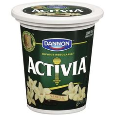I hate all things yogurt but for some reason I am in love with Activia Peach yogurt. I want to do naughty things to it.
