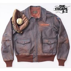 """""""Coming Soon  The Eastman 'Escape' A-2  Exact reproduction of the type A-2 jacket worn by 'the Cooler King' himself.  McQueen's Virgil Hilts character wore…"""""""