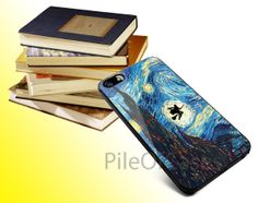 Harry Potter Flying In Starry Night for iPhone 4/4s/5/5s/5c, Samsung Galaxy s3/s4 case