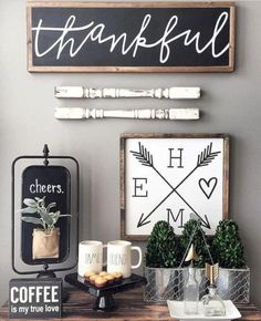There are many rustic wall decor ideas that can make your home truly unique. Find and save ideas about Rustic wall decor in this article. See more ideas about Farmhouse wall decor, Dining room wall decor and Hobby lobby decor. Dining Wall Decor, Farmhouse Wall Decor, Rustic Wall Decor, Rustic Farmhouse, Dining Room, Farmhouse Signs, Farmhouse Ideas, Cute Wall Decor, Urban Farmhouse