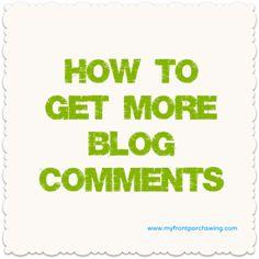 more blog comments