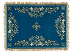 Velvet сhalice сovers and veil, $130.00, catalog of St Elisabeth Convent. #catalogofgooddeed #church #orthodox #buy #order