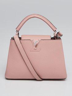 84b9484544 Louis Vuitton Petale Taurillon Leather Capucines BB Bag - Yoogi's Closet My  Style Bags, Authentic