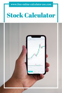 This stock total return calculator will calculate the return on investment based on the average periodic dividend (if any) and the price per share when sold. #investing #invest #stock #ROI Online Calculator, Debt Free, Life Motivation, Financial Planning, Money Management, Money Saving Tips, Personal Finance, Investing, How To Become