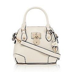 Floozie by Frost French - Cream heart padlock mini dome bag