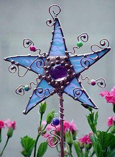 Brand New Hanging papillon Cristal Décoration De Jardin