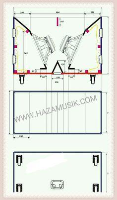 skema box speaker 18x2 P-Audio Hybrid - Haza event organizer