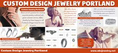 Custom Jewelry Design, Custom Design, Happy Couples, Jewelry Shop, Ring Designs, Diamond Rings, Portland, Opportunity, Personality