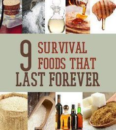 Survival Food That Lasts Forever | List Of Prepping Meals For Natural Disasters By Survival Life http://survivallife.com/2014/04/16/survival-food-that-lasts-forever/  http://survivallife.com/2014/04/16/survival-food-that-lasts-forever/  https://www.facebook.com/PreppingMeansPrepared/