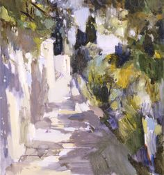 Avenue along the sea - Yuri Konstantinov