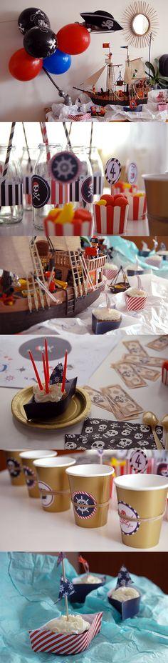 Un cumpleaños... ¡pirata!