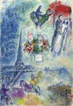 Marc chagall sera à l'honneur sur le stand de la galerie Boulakia a TEFAF 2015 | Communic'art