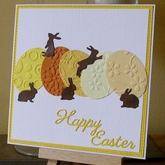 # happy # easter # happy # easter, wishes greeting card Happy Easter . Easter Greeting Cards, Greeting Cards Handmade, Handmade Easter Cards, Diy Easter Cards, Easter Art, Easter Crafts, Easter Wishes, Easter Projects, Halloween Cards