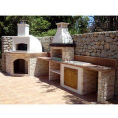 Cucine da esterno - Cucina da esterno rustica   Pinterest ...