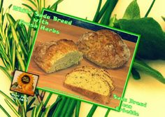 """Sweet and That's it: """"Back to the Future, Buddies"""": White Soda Bread - Soda Bread con Erbette Soda Bread, Back To The Future, Fresh Herbs, Banana Bread, Baking, Sweet, Desserts, Food, Candy"""