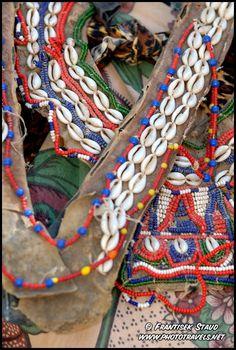 Africa   Bead adornment of the Kikuyu tribes people, Kenya    © Frantisek Staud