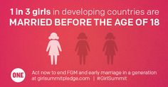 Every Year, More Than 13 Million Girls Marry Before Their 18th Birthday