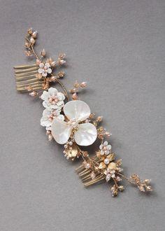MAGNOLIA Floral Bridal Headpiece 7