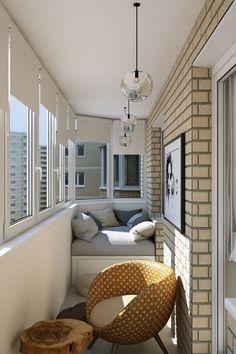 kleine Sitzecke auf dem Balkon gestalten